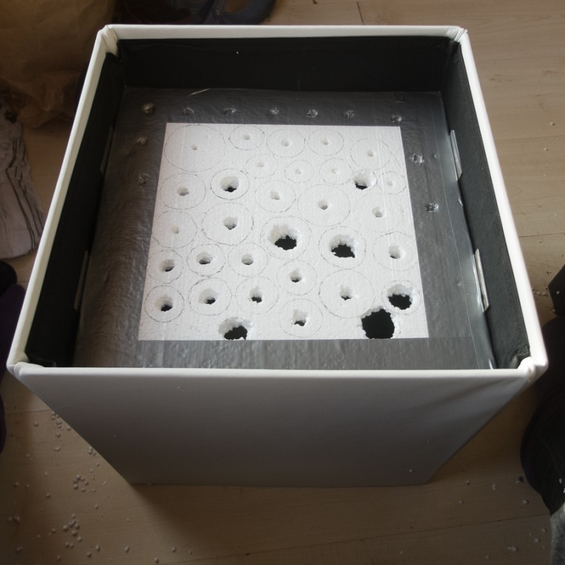 Drilled all the holes