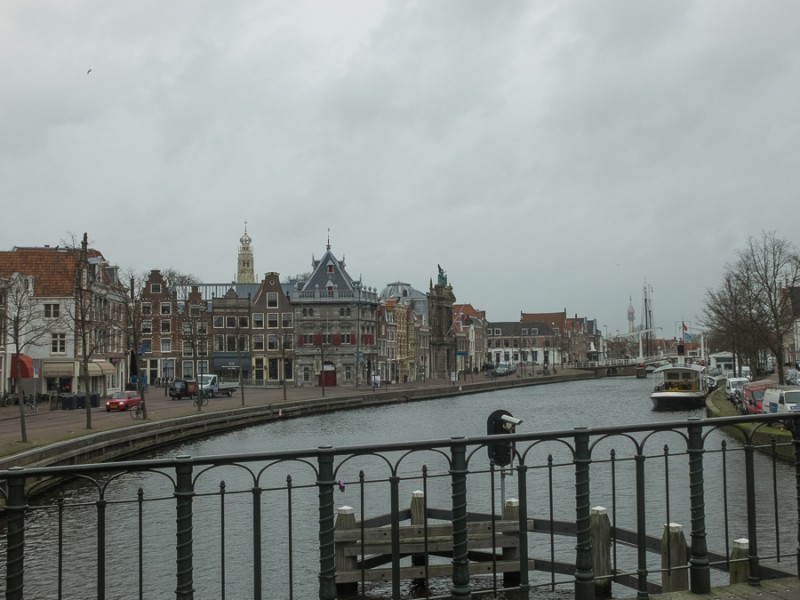 View over the river Spaarne