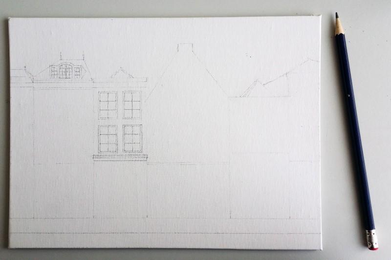 City sketch