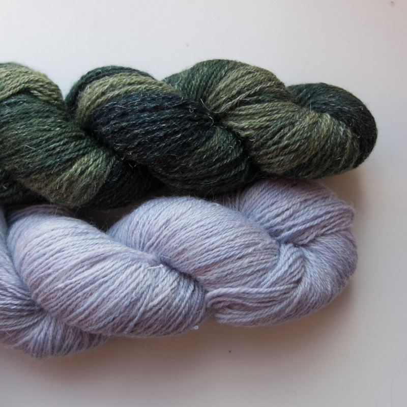 Silvery Green and Cobweb