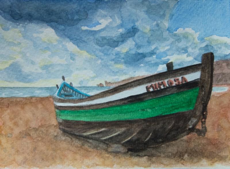 Sail away (10 x 15 cm postcard)