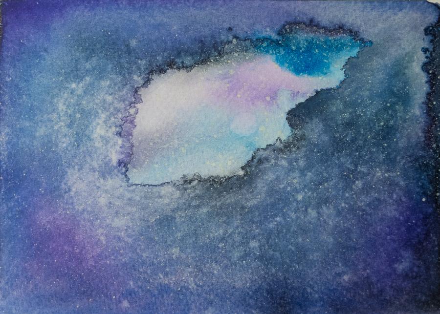 Wet galaxy