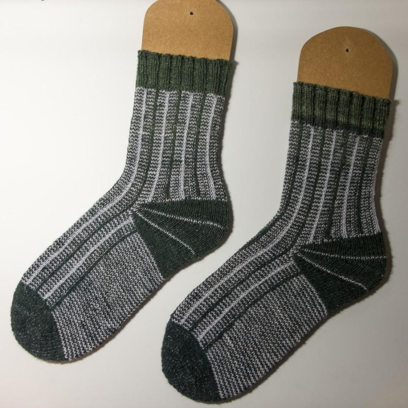 SlipStripeSpiral socks