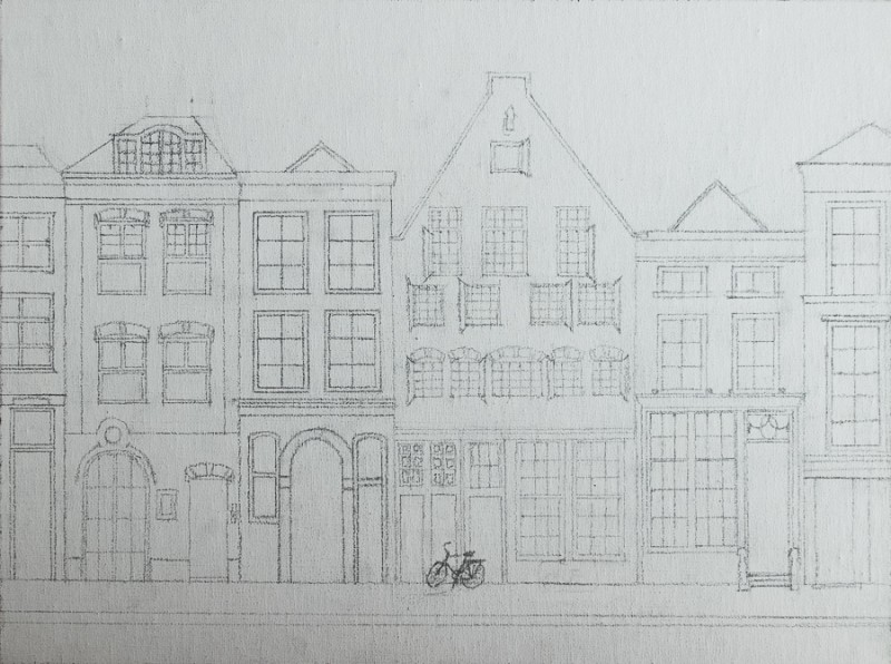 Delft houses