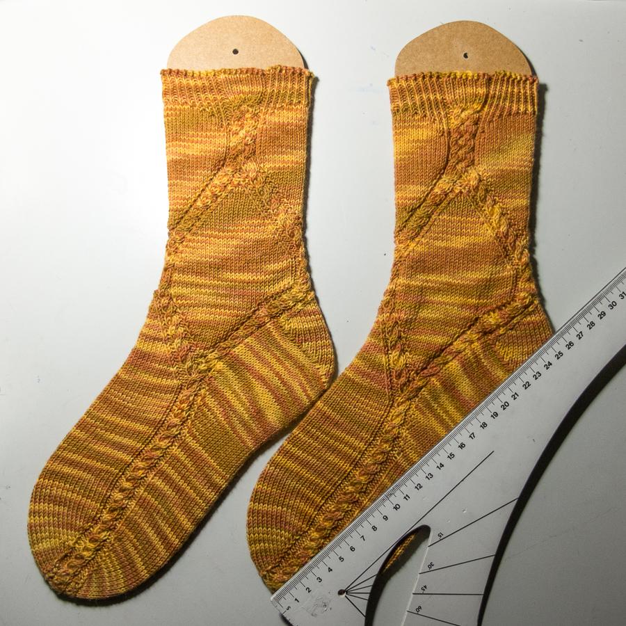 Sock Madness round 3: Waimakariri Socks