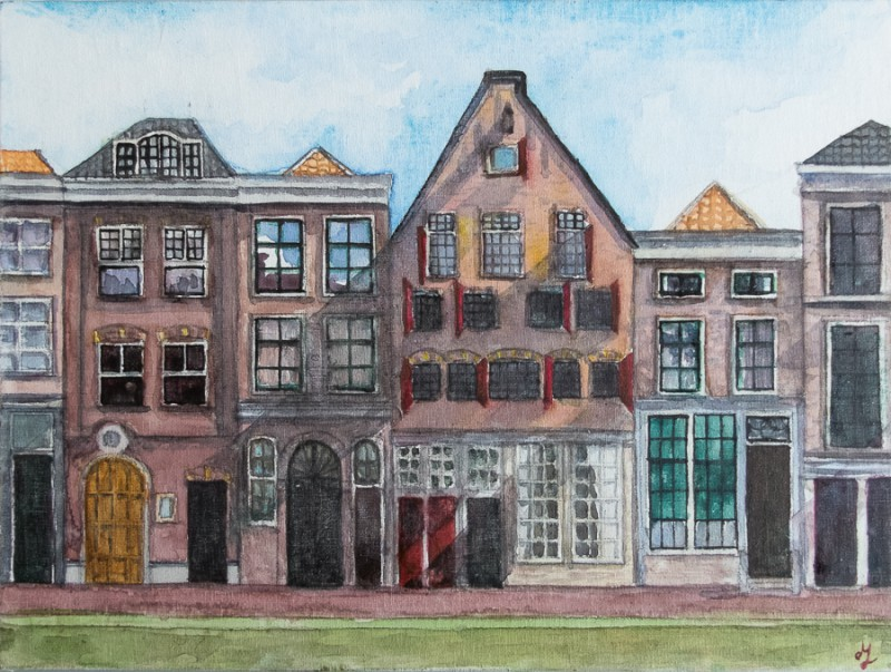 Delft (18 x 24 cm cotton canvas)
