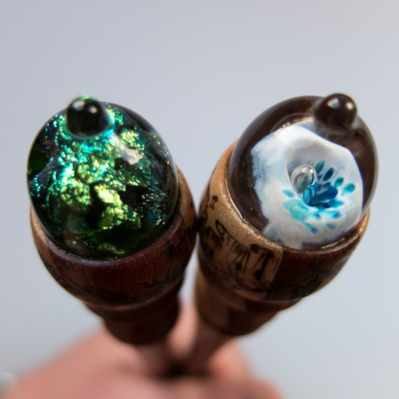 Shamrocks and First Bloom Glasspins