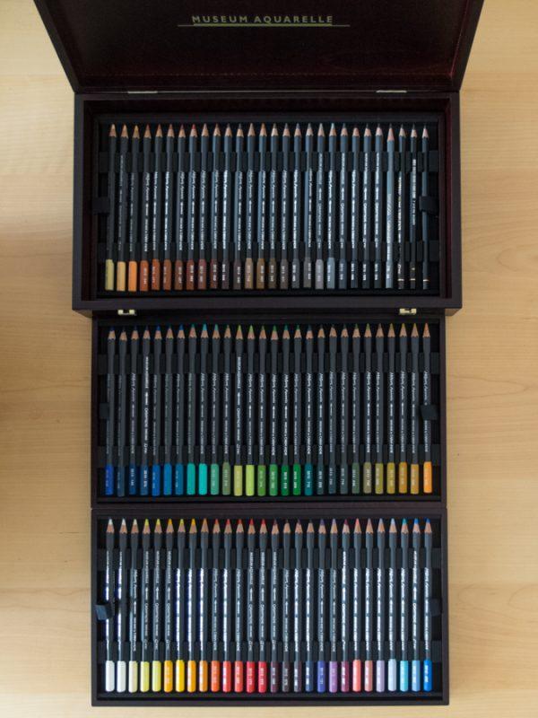 So many pencils!