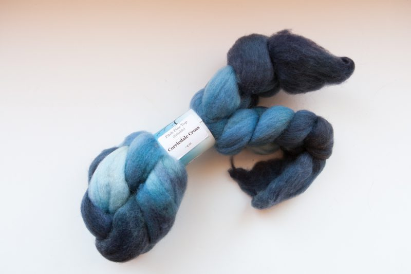 Soft and pretty spinning fibre